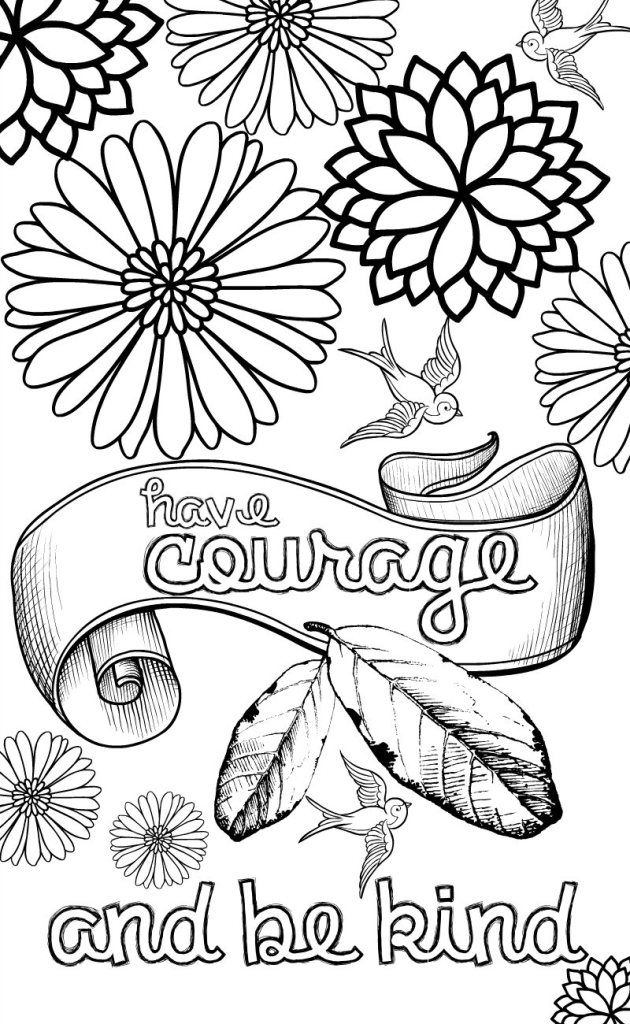 positive coloring pages - stay positive quote coloring pages sketch templates