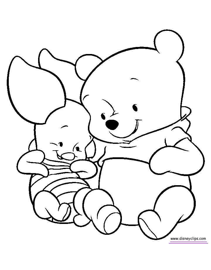 pot of gold coloring page - babypoohcoloring2