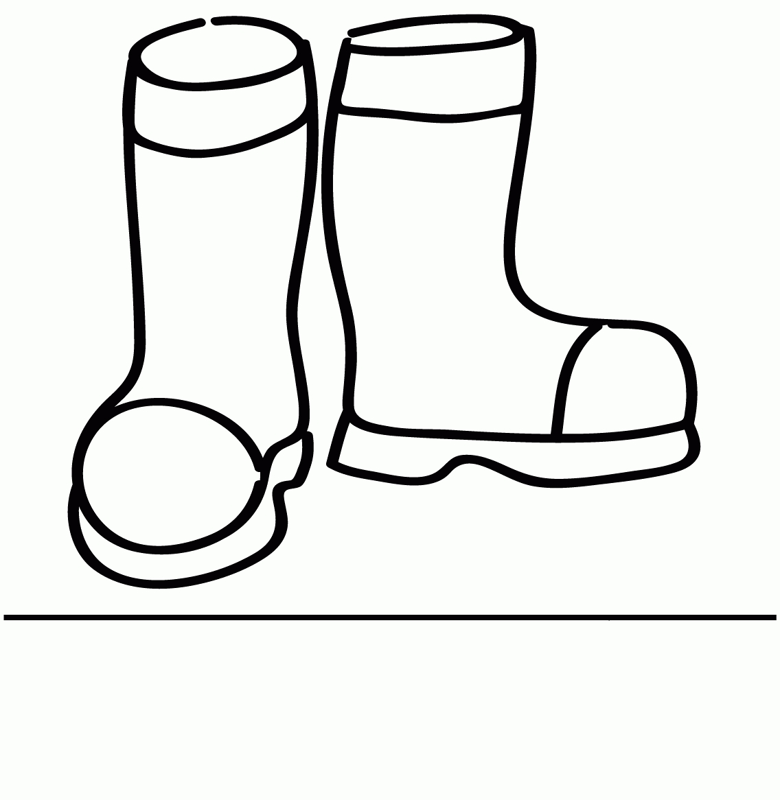 pot of gold coloring page - coloring pages for boots