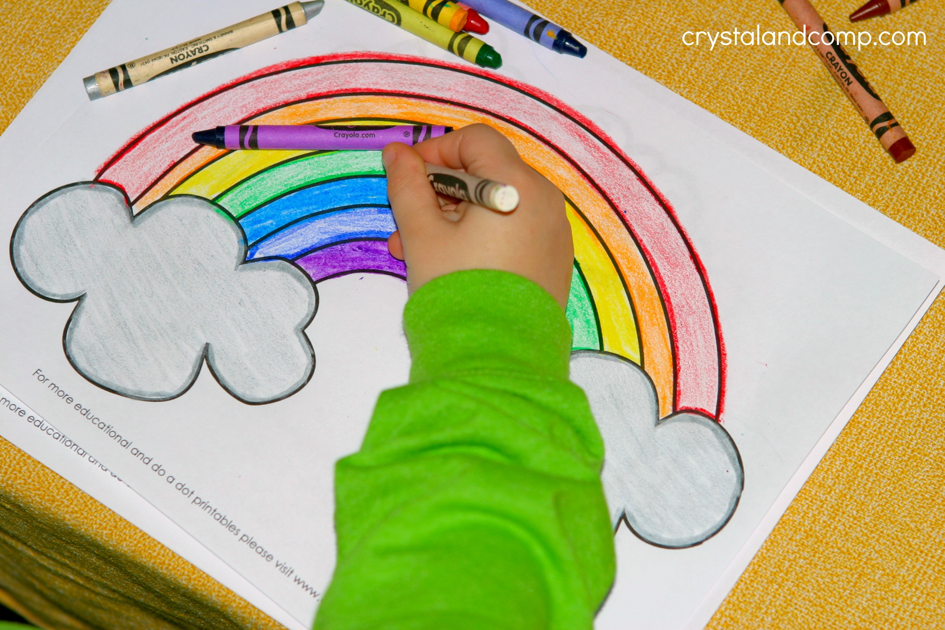pot of gold coloring page - kid color pages for st patricks day