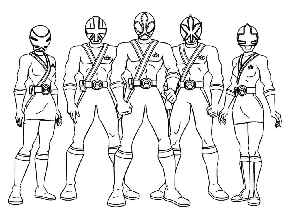 power rangers coloring pages - antonio power ranger