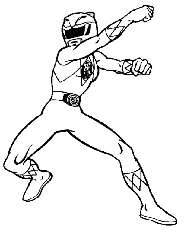 Power Rangers Coloring Pages - Free Printable Power Rangers Coloring Pages for Kids