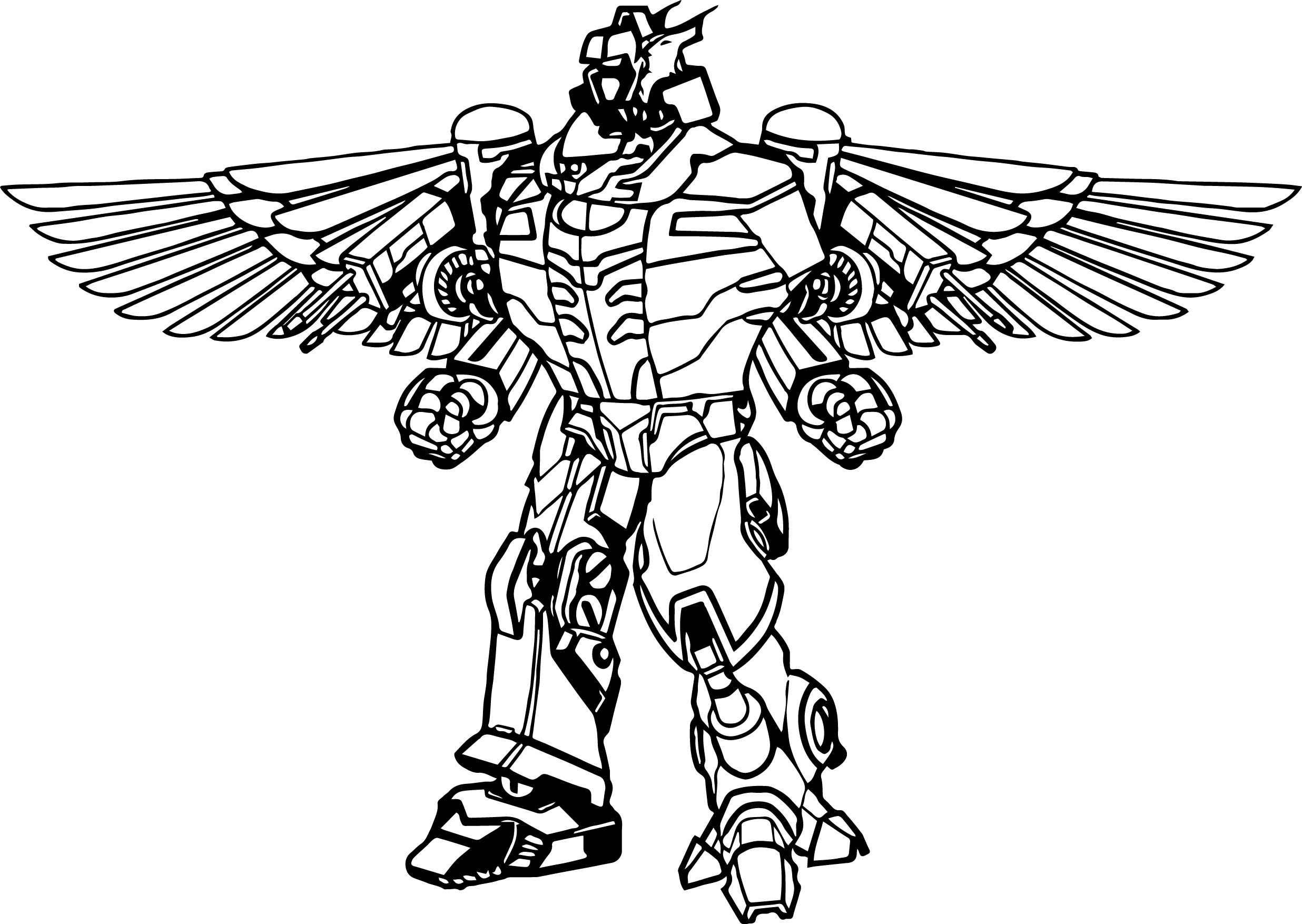 Power Rangers Dino Charge Coloring Pages - Power Rangers Robot Coloring Page