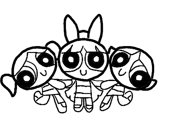 powerpuff girls coloring pages - powerpuff girls coloring pages