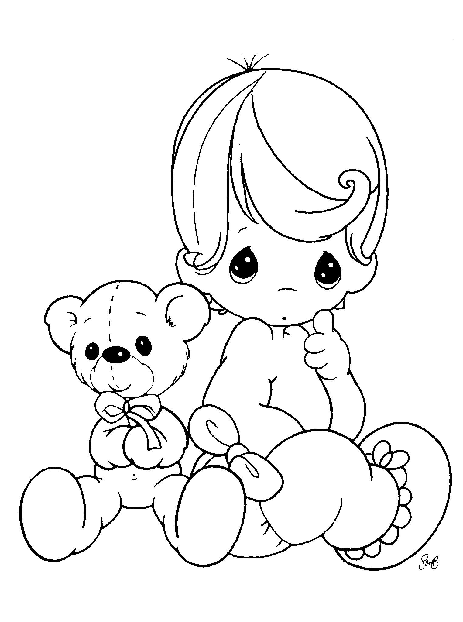 precious moments coloring pages - coloring pages precious moments