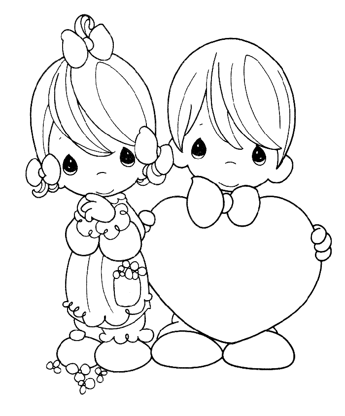 Precious Moments Coloring Pages - Precious Moments Coloring Pages Coloringpagesabc
