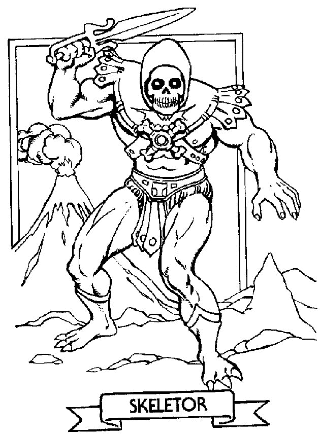 predator coloring pages - 111
