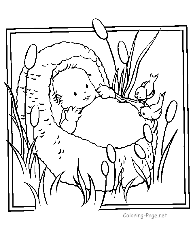 preschool bible coloring pages -