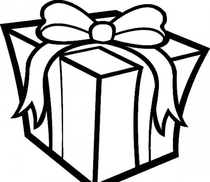 present coloring page - christmas presents coloring pages