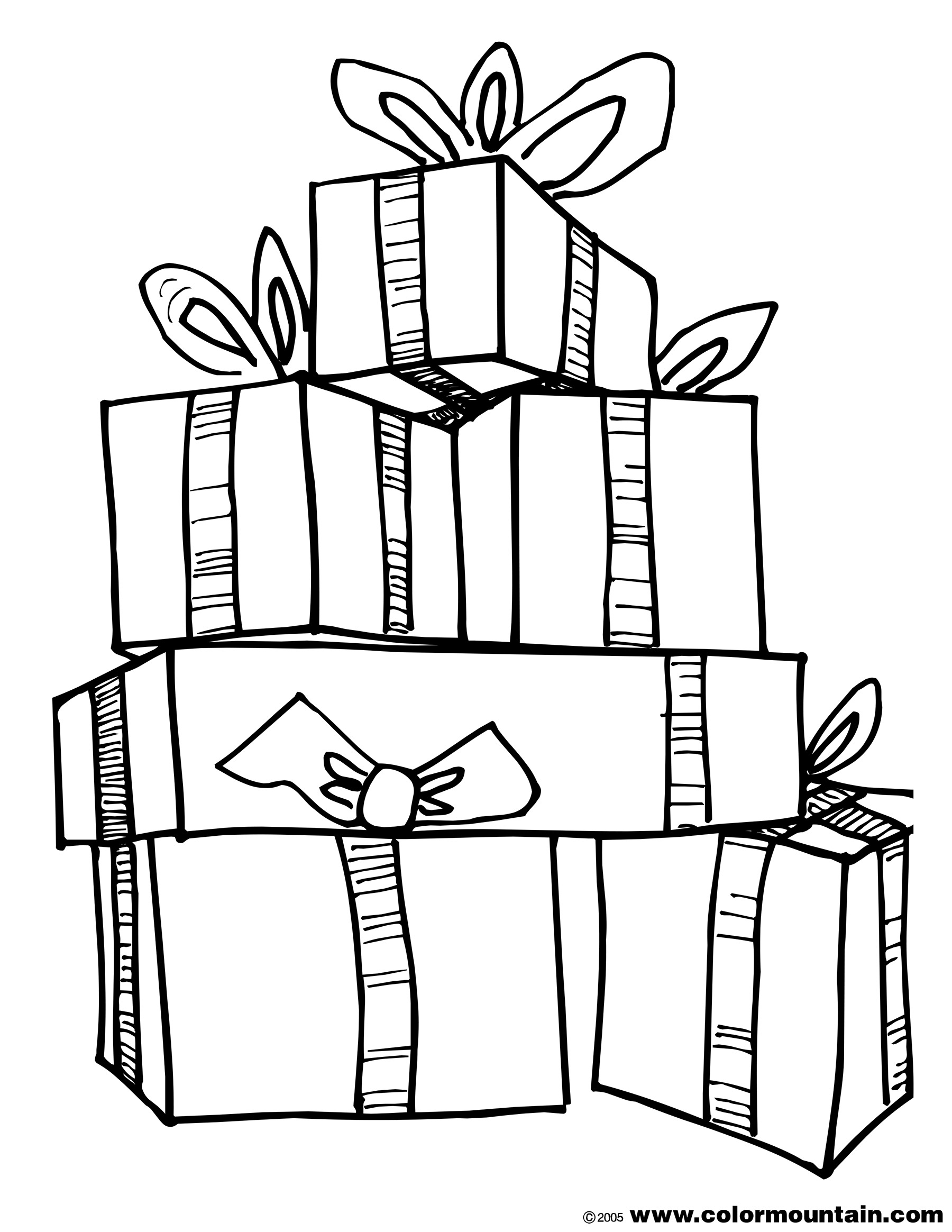 Present Coloring Page - Download Coloring Pages Present Coloring Page Present