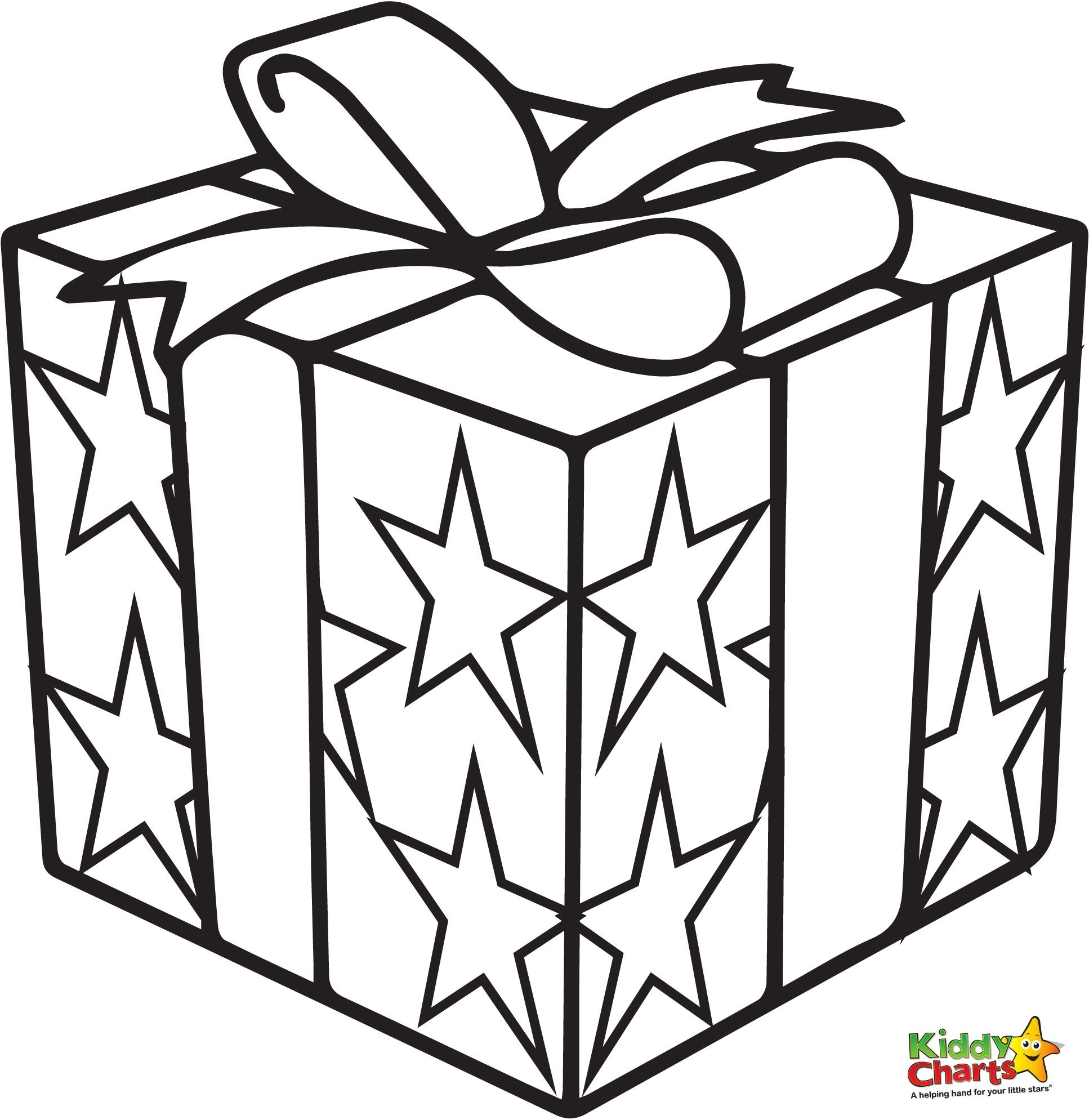 Present Coloring Page - Pin Present Colouring Pages Page 2 On Pinterest