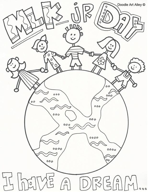 presidents day coloring pages - martin luther king coloring pages