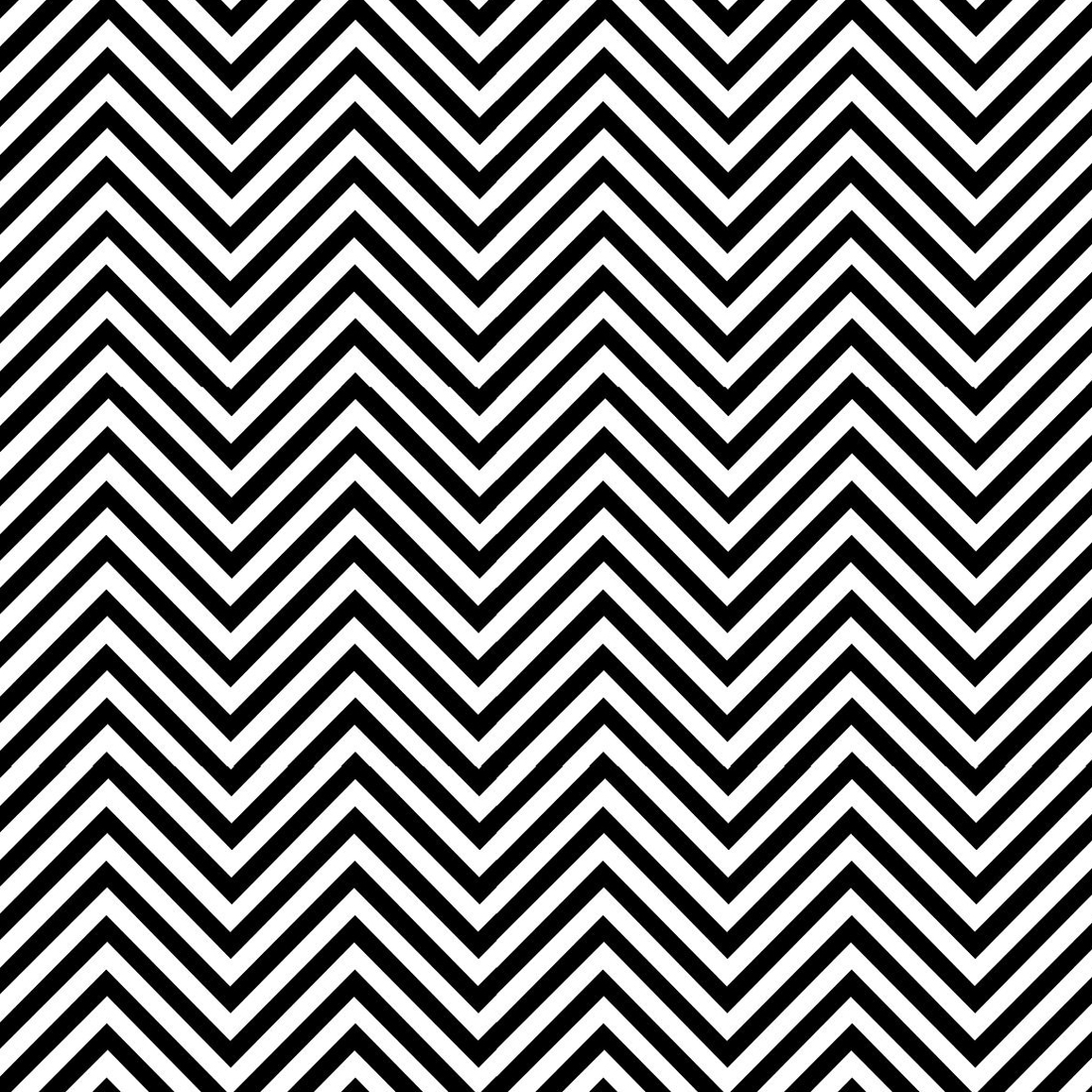 pretty coloring pages - sharp chevron black