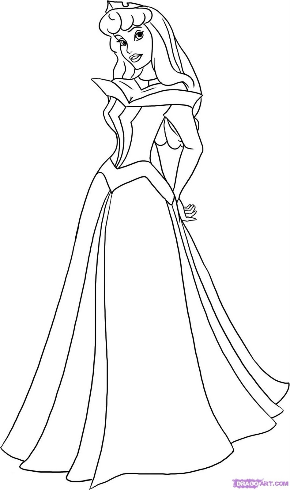 24 princess aurora coloring page printable free coloring pages