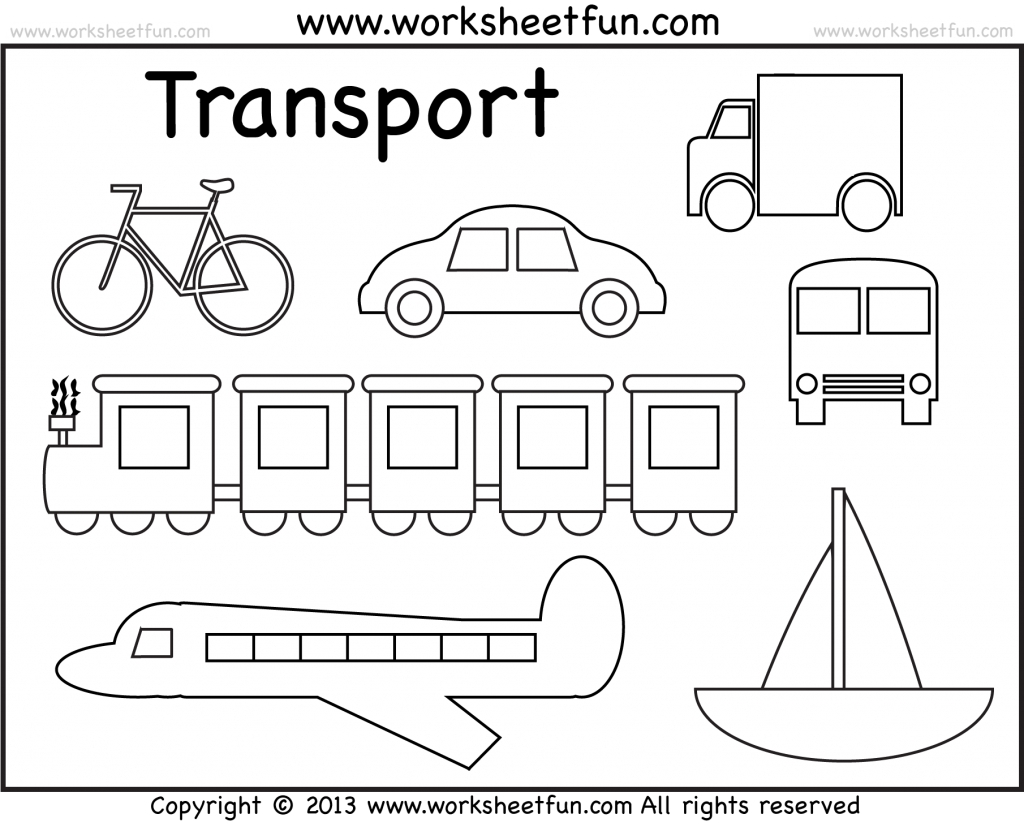 princess coloring pages - transportation picture to color transportation coloring pages