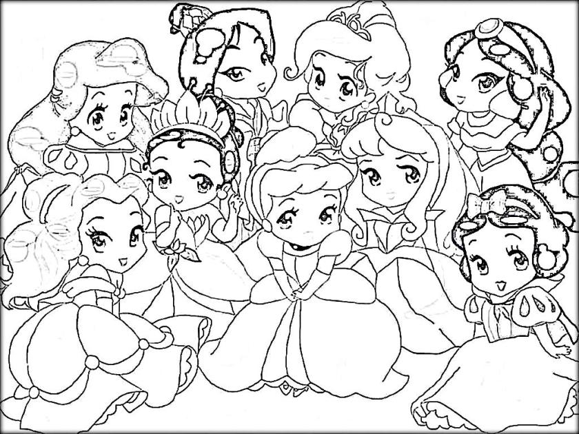princess coloring pages to print - disney princess coloring pages