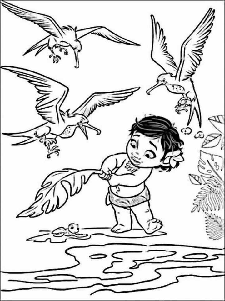 princess coloring pages to print - disney princess moana coloring pages to print ru28y
