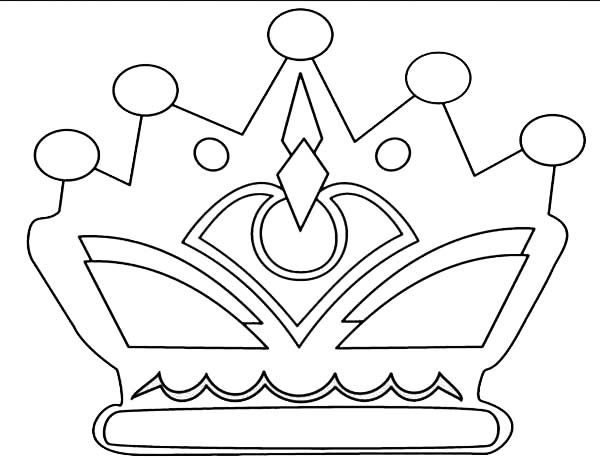 princess crown coloring page - jewelry coloring pages