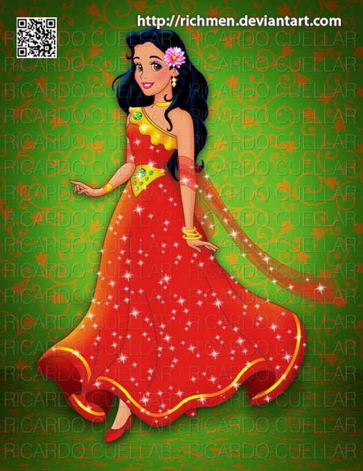 princess elena coloring page - Elena of Avalor