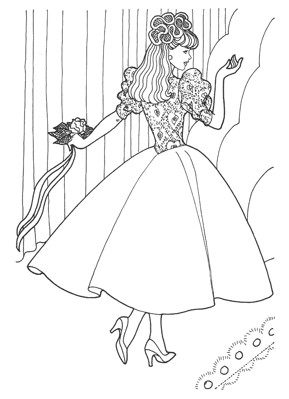 princess elena coloring page - 415