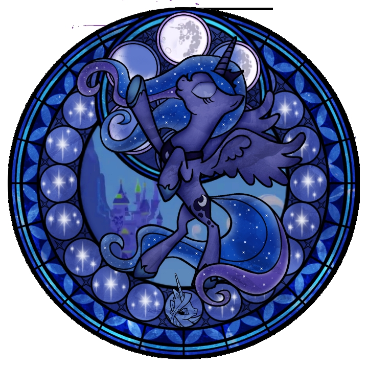 princess luna coloring pages - Archivo Princess Luna stained glass my little pony friendship is magic 720 720