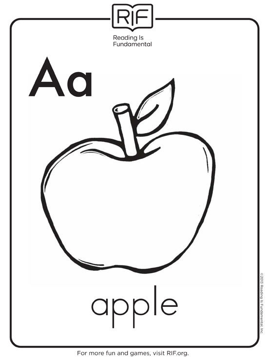 Printable Alphabet Coloring Pages - Free Alphabet Coloring Pages
