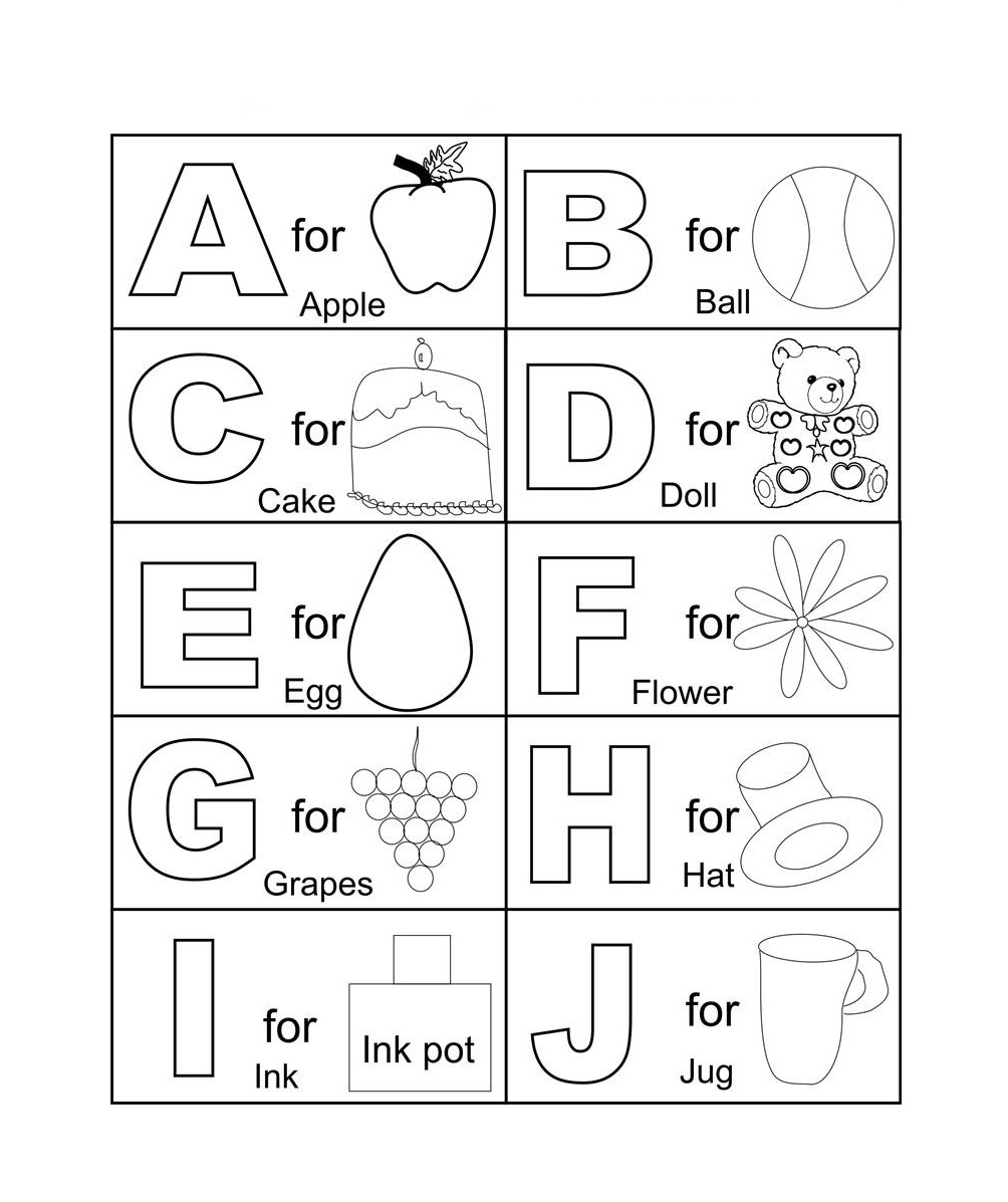 printable bible coloring pages - printable alphabet coloring page for kids alphabet coloring pages fortacool