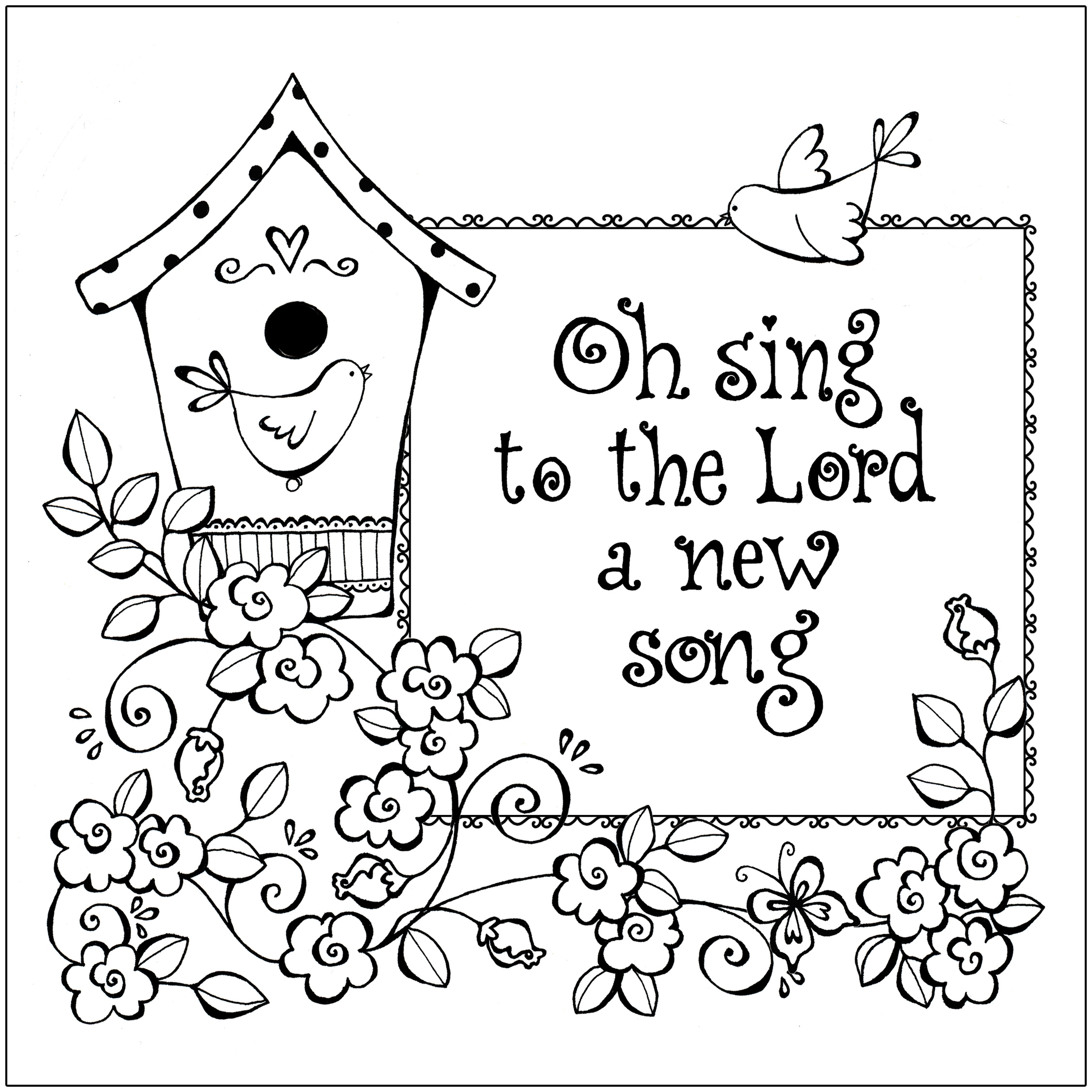 Printable Christian Coloring Pages - Free Printable Christian Coloring Pages for Kids Best