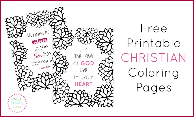 printable christian coloring pages - free printable christian coloring pages