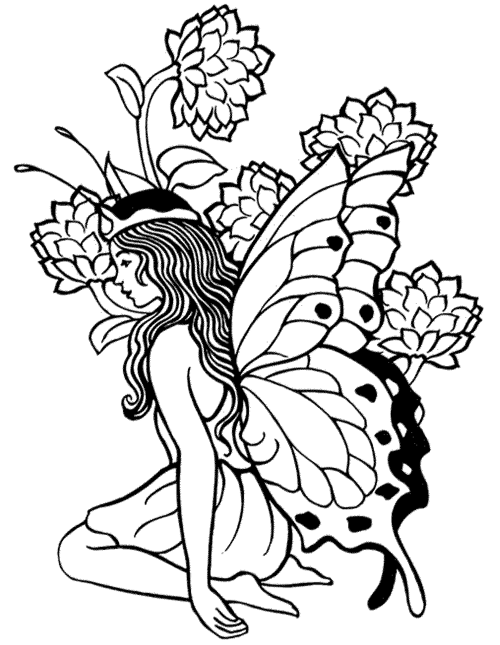 printable coloring pages for adults - free coloring media 7850