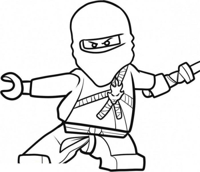 printable coloring pages for boys - ninjago coloring pages