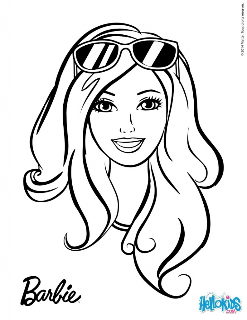 printable coloring pages for girls - barbie images for drawing colour drawing free wallpaper barbie coloring drawing free wallpaper