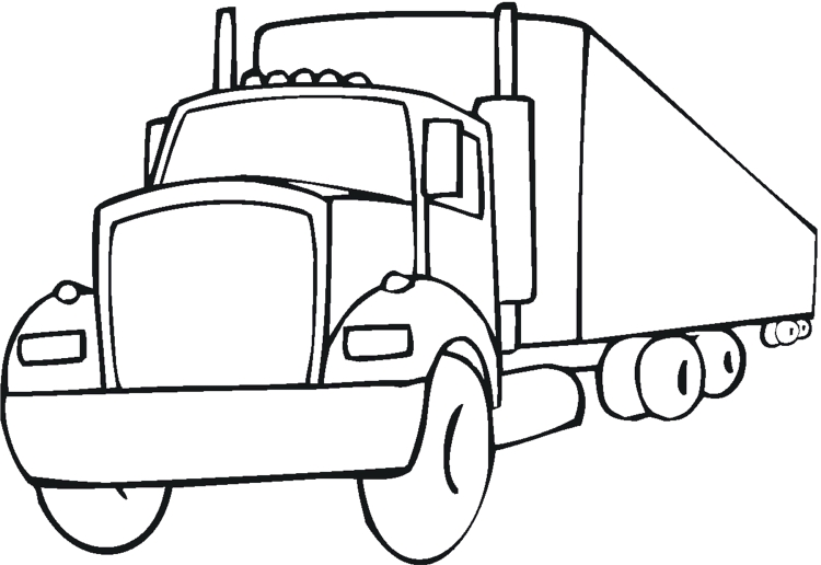printable coloring pages for girls - truck coloring pages color printing coloring sheets 56 printable coloring pages
