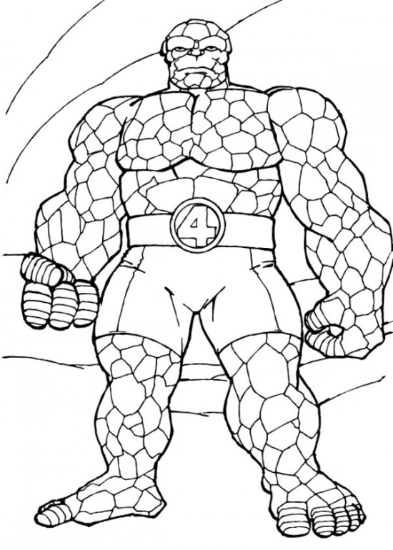 printable coloring pages for preschoolers - superhero coloring pages