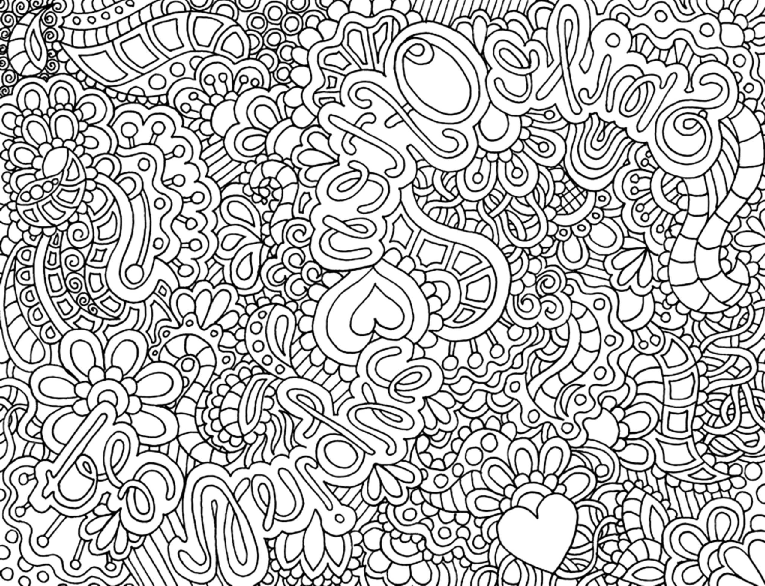 printable complex coloring pages -