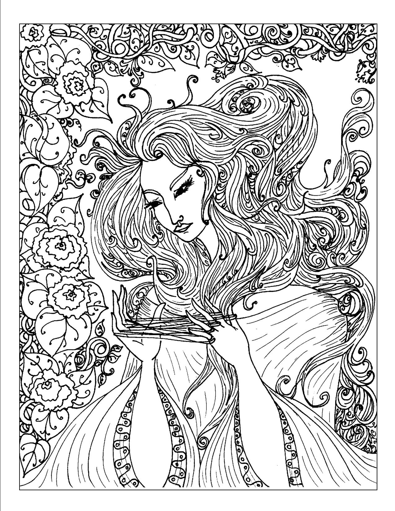printable complex coloring pages - coloring pages