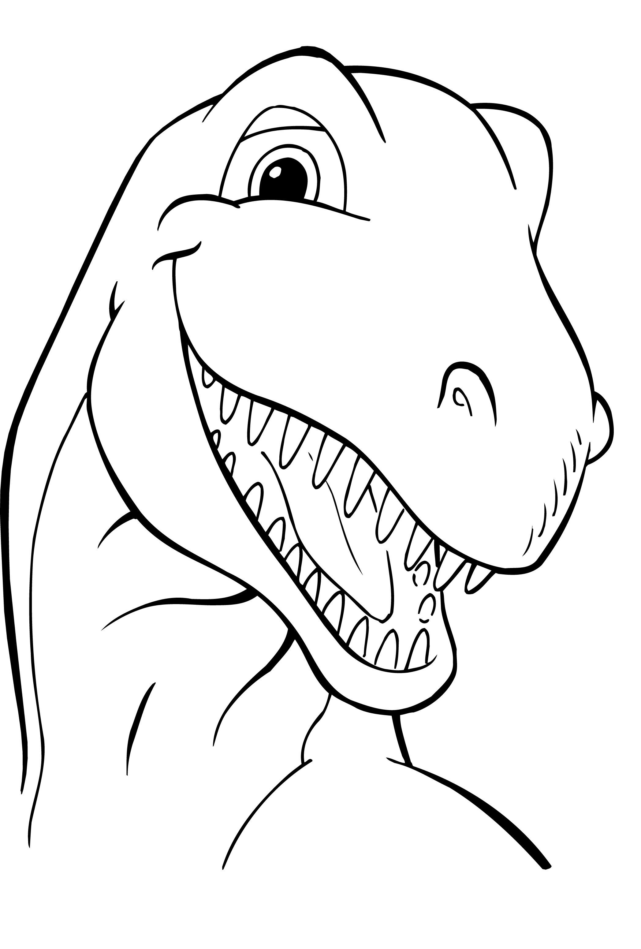 printable dinosaur coloring pages - dinosaur coloring pages