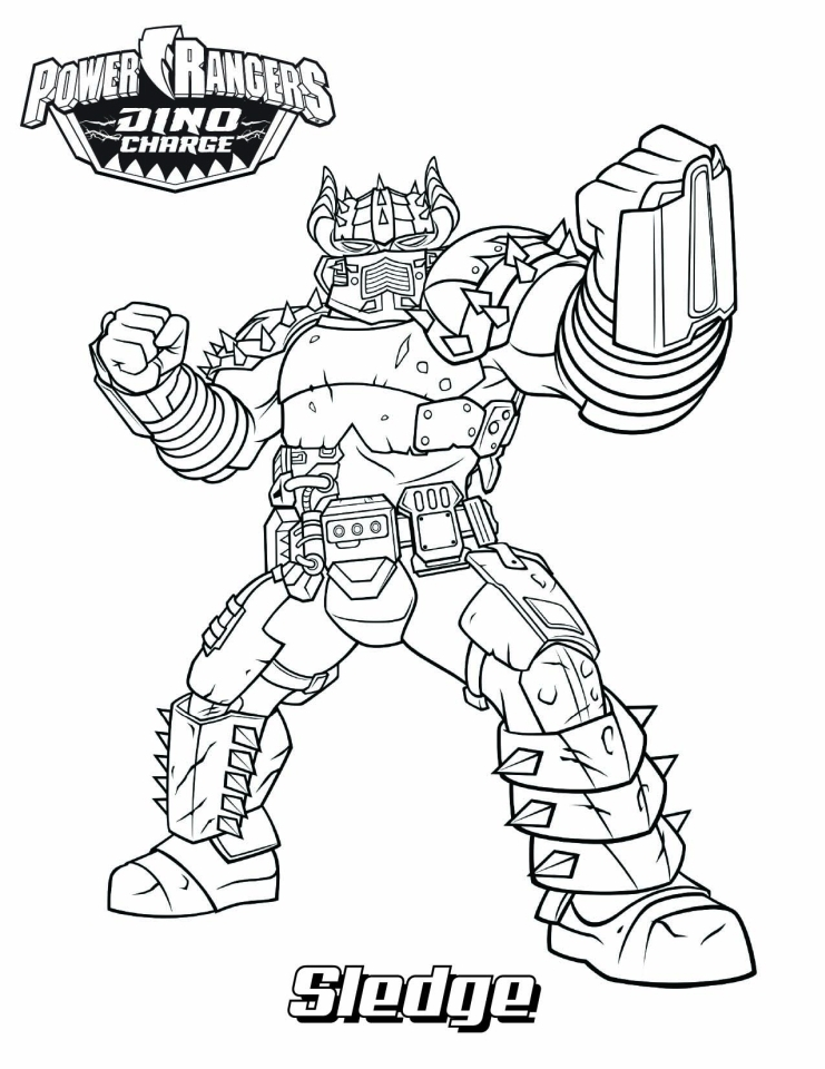 printable easter coloring pages - power ranger dino force coloring pages for kids