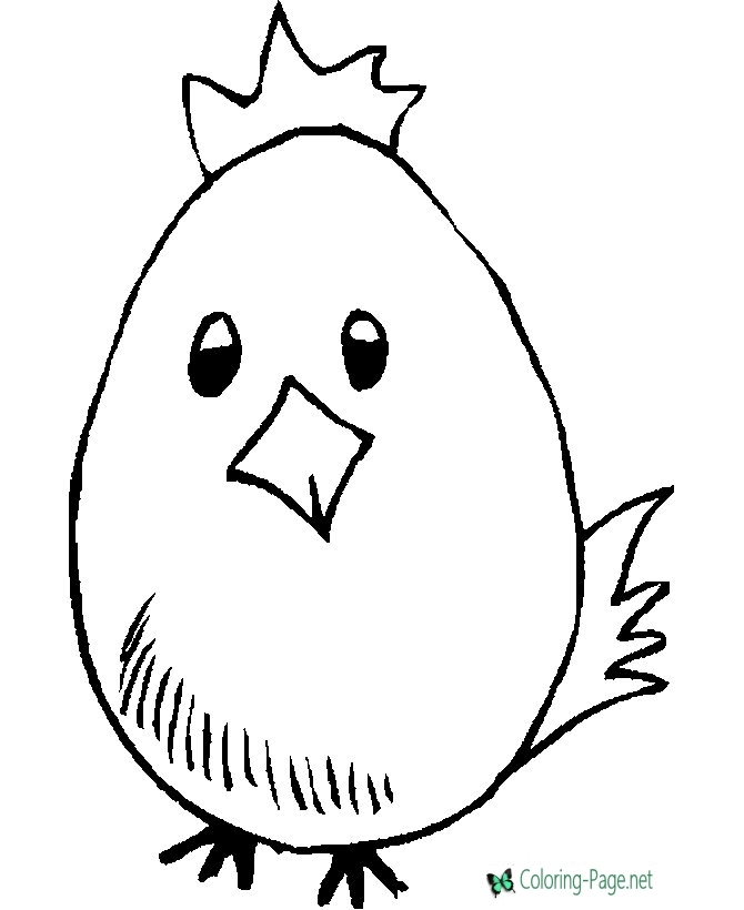 printable easter coloring pages - egg