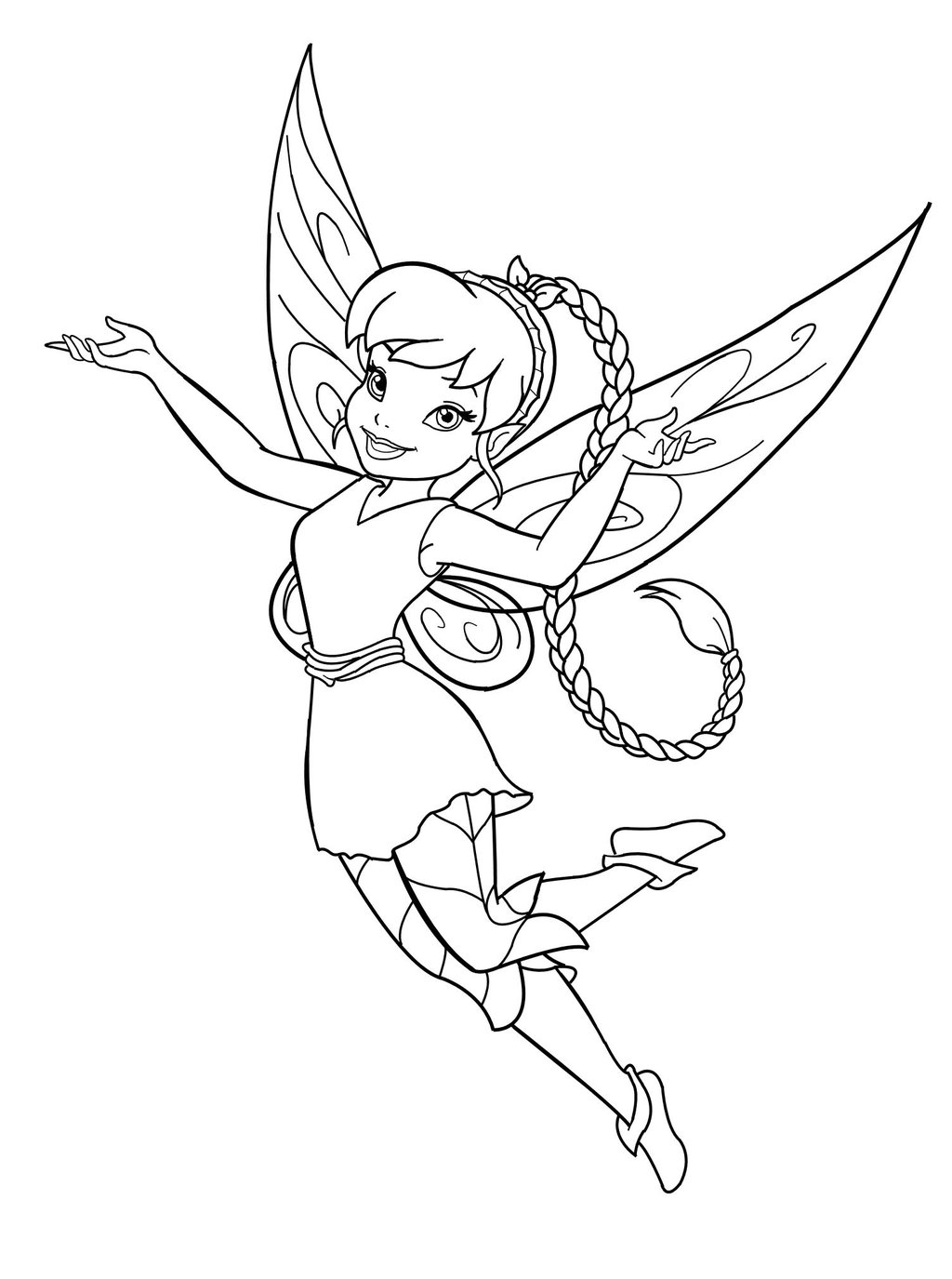 printable fairy coloring pages - fairy coloring pages