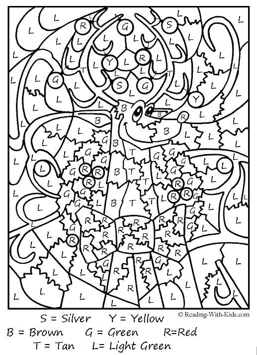 printable holiday coloring pages - christmas games for kids