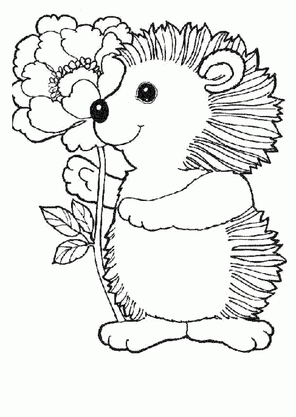 printable kitten coloring pages - baby animal coloring pages