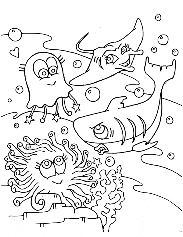 printable number coloring pages - beluga whale coloring 02
