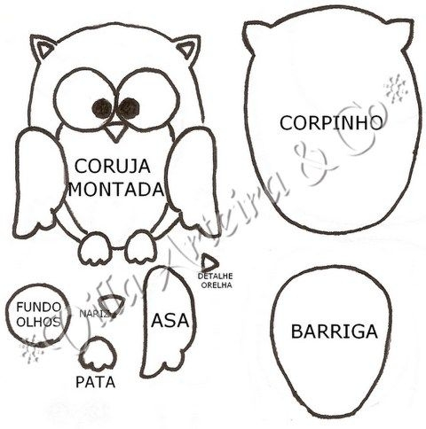 printable owl coloring pages - patrones patterns