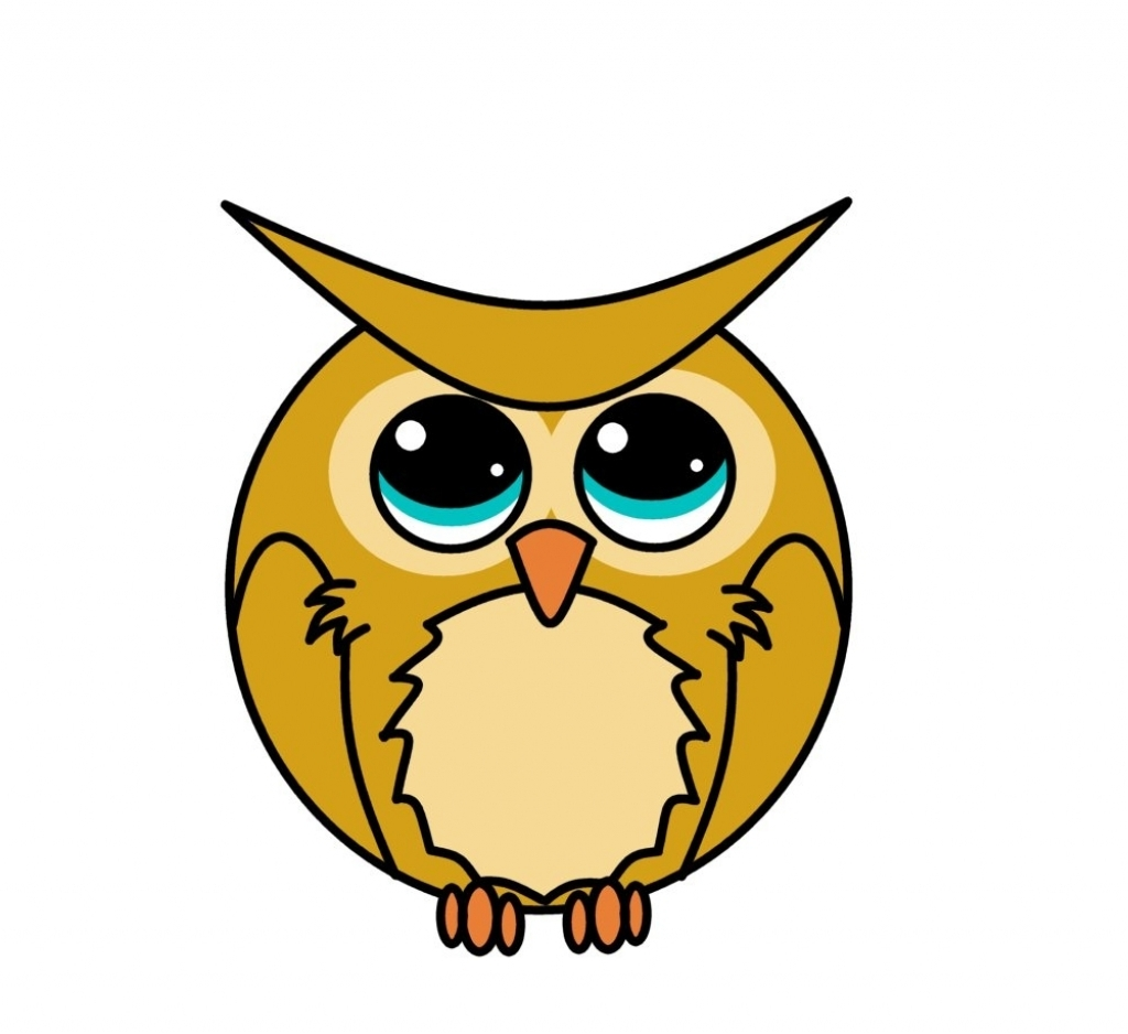 printable owl coloring pages - cartoon owl drawing cartoon owl coloring page free printable coloring pages