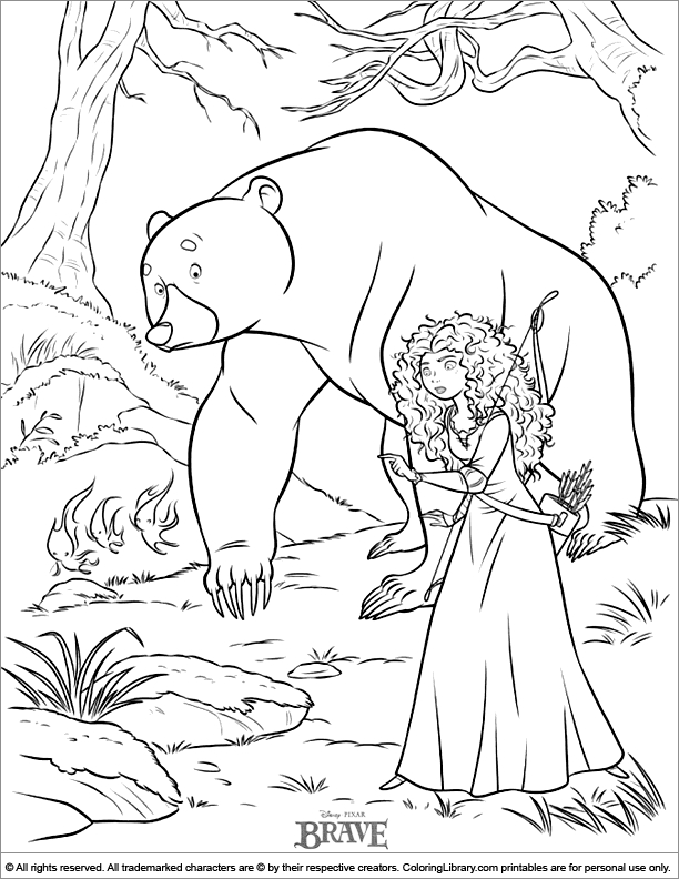 printable princess coloring pages - page 1807