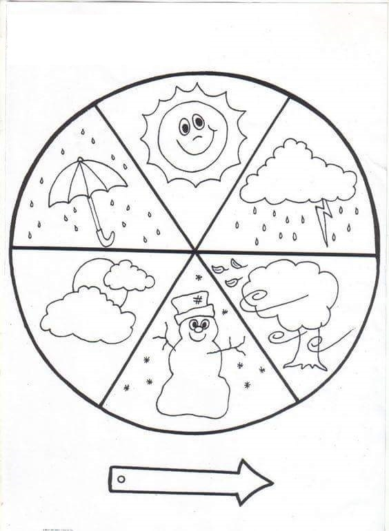 printable princess coloring pages - fun weather crafts and activities for preschool 1