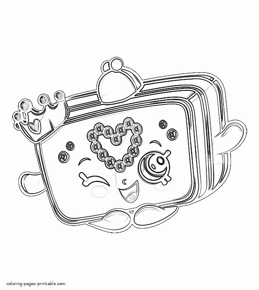 Printable Princess Coloring Pages - Shopkins Coloring Pages Free Printable Princess Purse