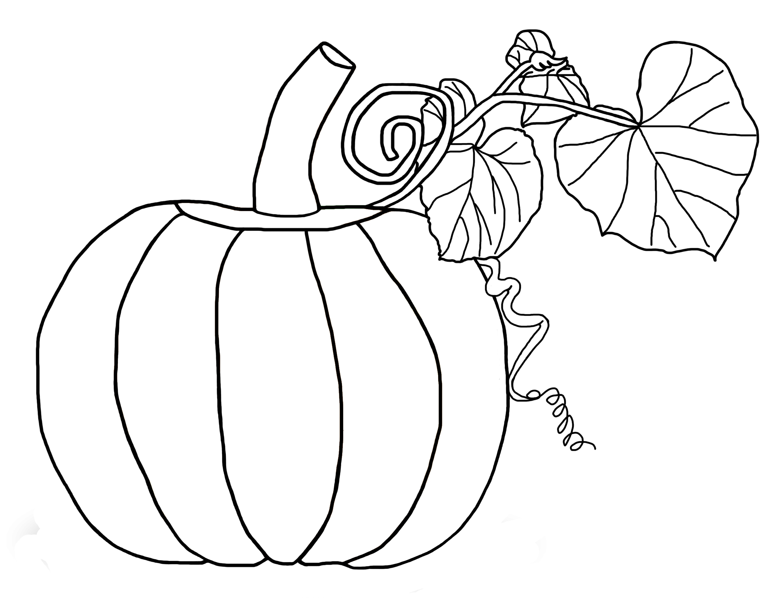printable pumpkin coloring pages - pumpkin coloring pages