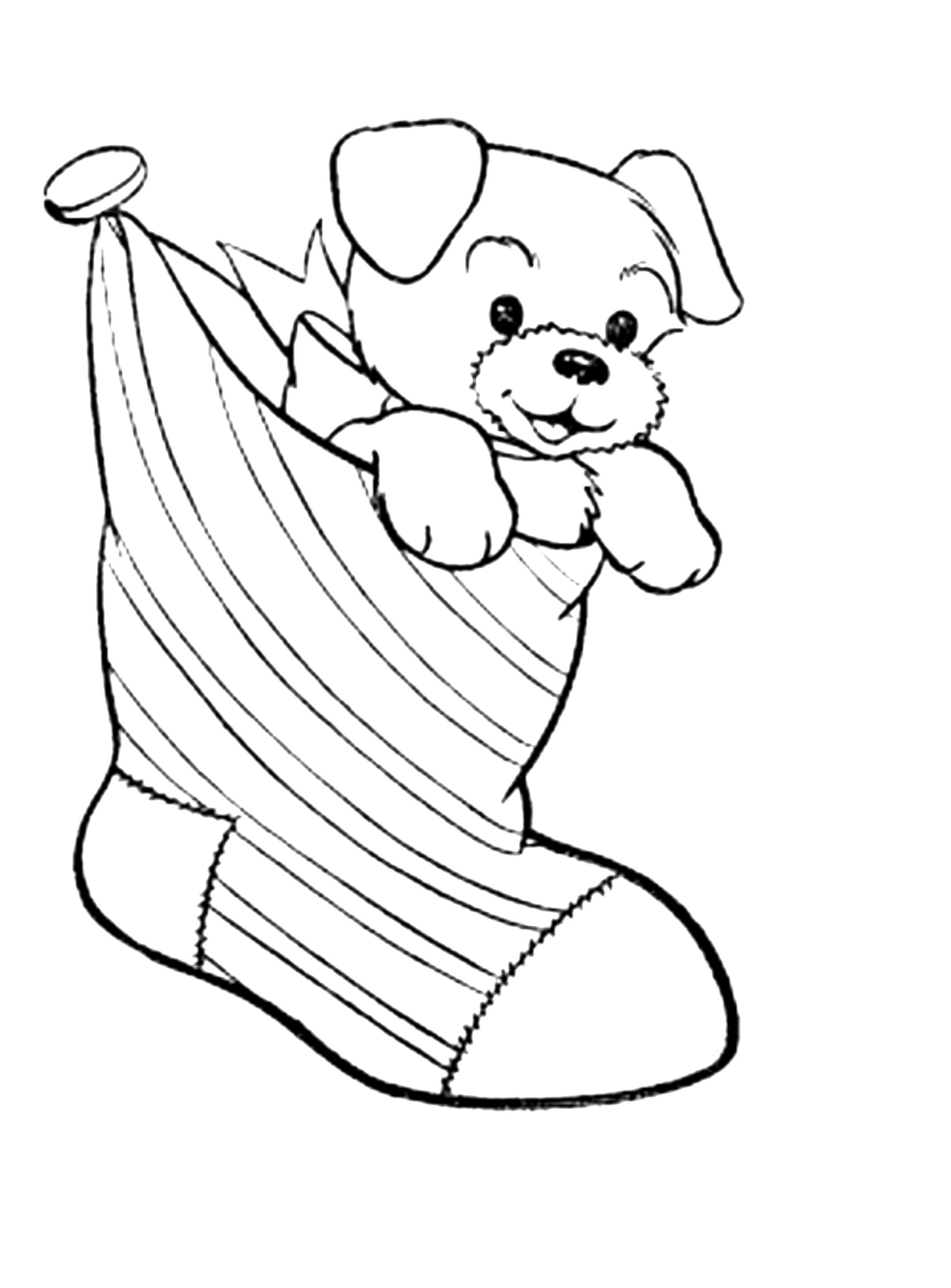 printable puppy coloring pages - puppy coloring pages